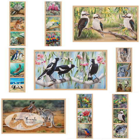 WILDLIFE ART PANELS by Devonstone Collections - NEW ARRIVAL