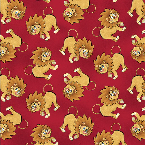 A JUNGLE STORY Lions Red