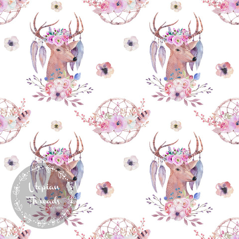 CUSTOM DIGITAL FABRIC Bohemian Dreams - Design C - BY REQUEST