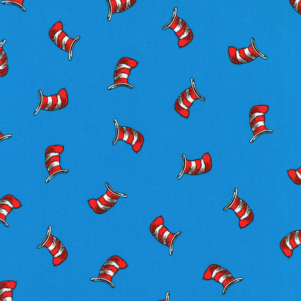 DR SEUSS THE CAT IN THE HAT Hat Toss Blue