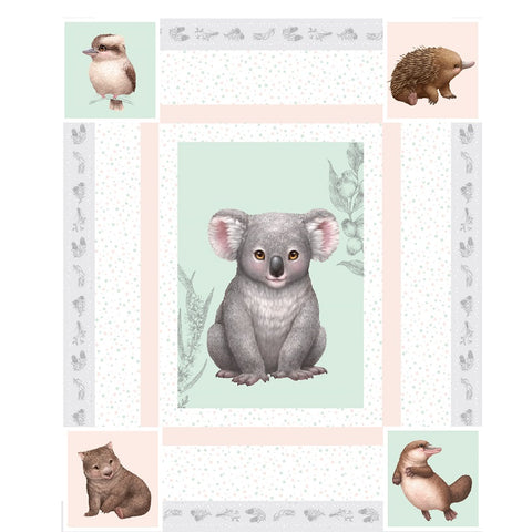 LITTLE AUSSIE FRIENDS Panel - NEW ARRIVAL