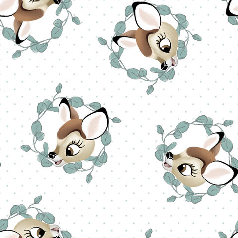 BAMBI DISNEY Bambi Badge White - NEW ARRIVAL