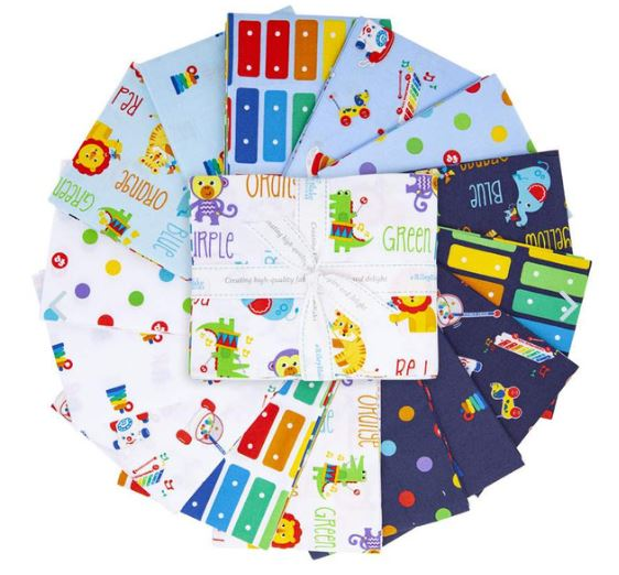 FISHER PRICE Fat Quarter Bundle - NEW ARRIVAL