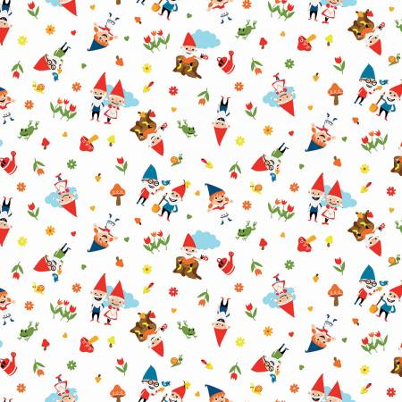 GNOME & GARDENS Around White - NEW ARRIVAL