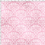 CUSTOM DIGITAL WOVEN (Cotton Poplin 140gsm) Gothic Glam - Damask Pink White - NEW ARRIVAL