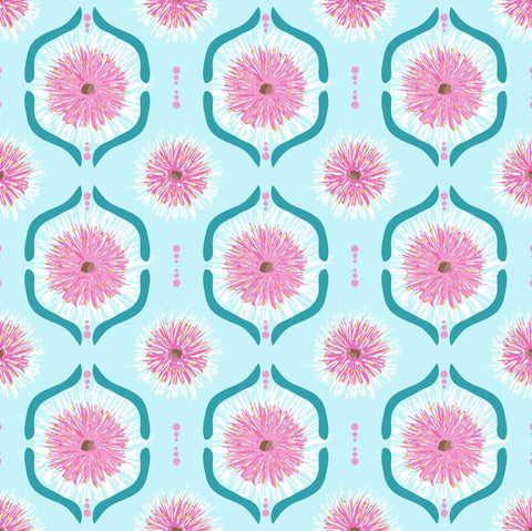 SWEET BOTANICALS Gumnut Flower Tiles Light Blue