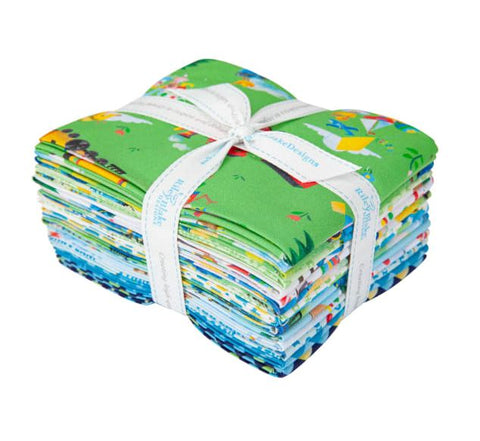 LITTLE ENGINE THAT COULD Fat Quarter Bundle - NEW ARRIVAL
