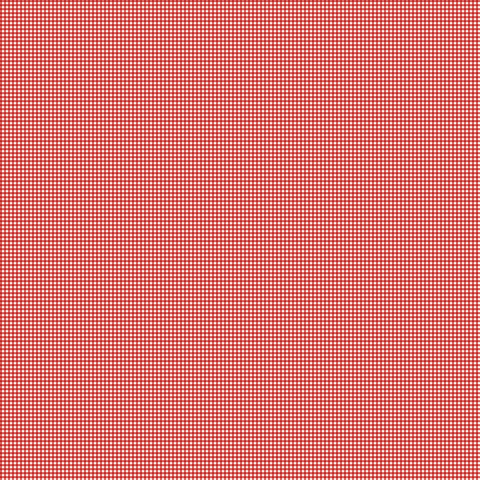 LOVE LETTERS Gingham Red