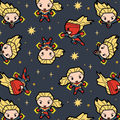 MARVEL KAWAII COLLECTION Captain Marvel Slate Grey - NEW ARRIVAL