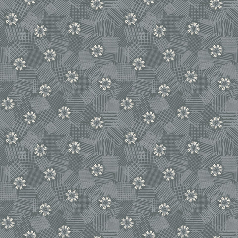 MEADOW LANE Scribbled Floral Grey - NEW ARRIVAL