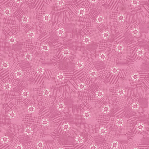 MEADOW LANE Scribbled Floral Pink - NEW ARRIVAL