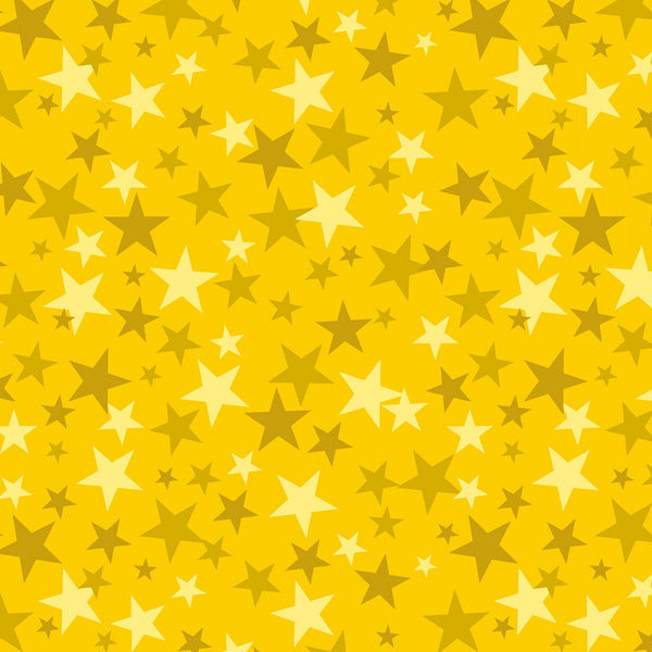 MONSTER TRUCK Stars Yellow