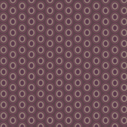 OVAL ELEMENTS Prune Brown