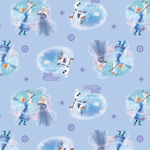 OLAF'S FROZEN ADVENTURE Season to Celebrate Blue