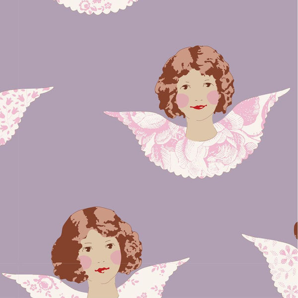 OLD ROSE COLLECTION Angel Scraps Mauve