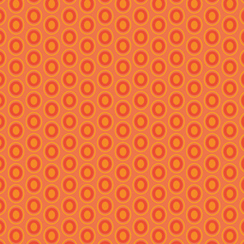 OVAL ELEMENTS Tangerine Tango (Wild Bloom)
