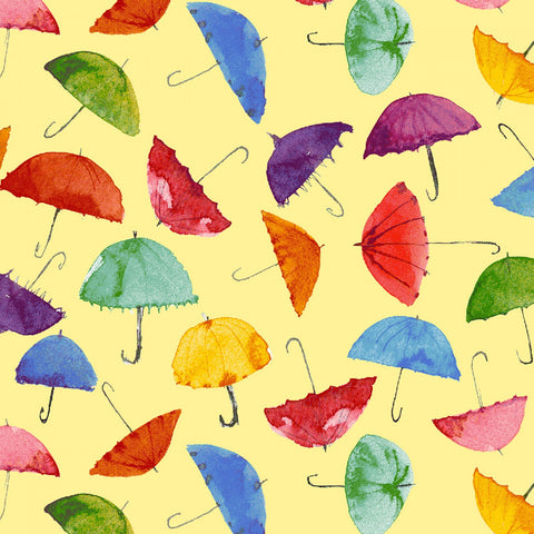 RAIN OR SHINE Umbrellas Yellow