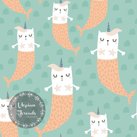 CUSTOM DIGITAL FABRIC Scandi Kids - Mercaticorns  - BY REQUEST