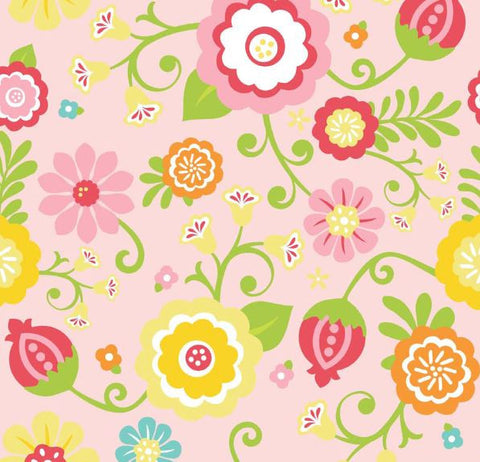 SIMPLY SWEET Floral Pink - SALE $13.00 p/m