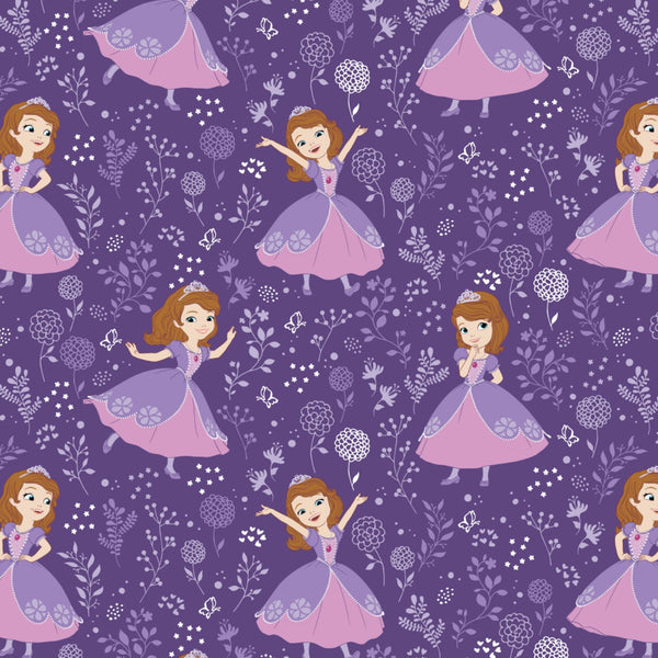 SOFIA THE FIRST Dancing on Purple