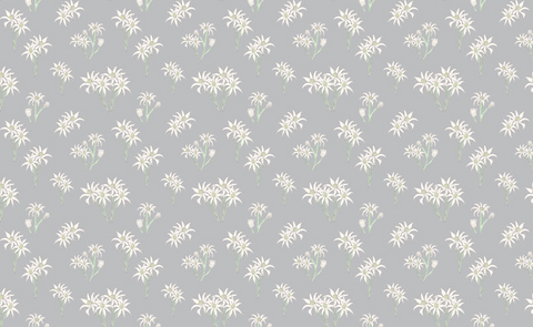 SWEET BILBY Wildflowers Grey - NEW ARRIVAL