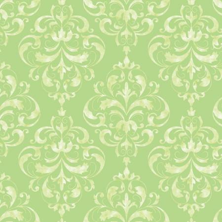 SWEET MELODY Damask Green