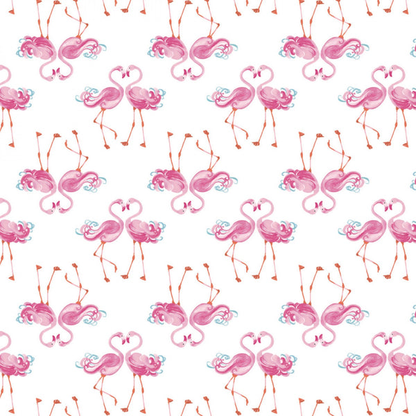 THE GIRLS COLLECTION Flamingle White
