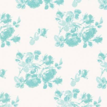 SADIE'S DANCE CARD Tonal Rose Jade - SALE $17.00 p/m