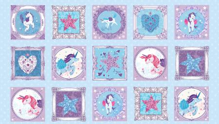 UNICORN KISSES Multi Unicorn Blocks