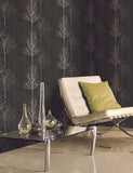 11000 Bowland is a beautiful Black Tree Wallpaper from Holden Decor