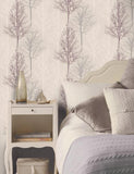 11001 Bowland is a beautiful Pink Tree Wallpaper from Holden Decor