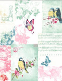 11260 Songbird is a beautiful Multi Collage Wallpaper from Holden Decor