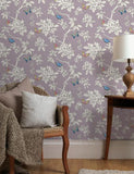 11431 Tahlia is a beautiful Pink Butterfly Wallpaper from Holden Decor