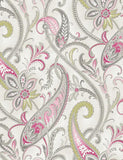 11541 Tropical Paisley is a beautiful Pink / Cream Motif Wallpaper from Holden Decor