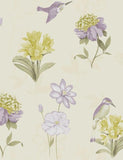 11562 Kingfisher is a beautiful Purple Floral Wallpaper from Holden Decor