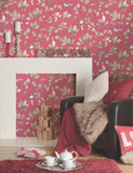 11601 Acorn Trail is a beautiful Pink Trail Wallpaper from Holden Decor