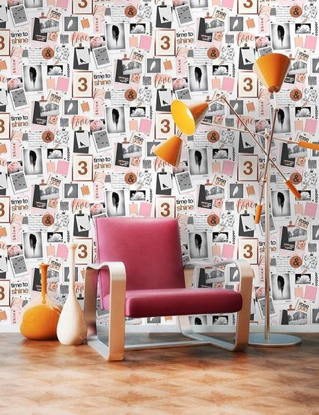 12140 Time to Sparkle is a beautiful Pink Kids Wallpaper from Holden Decor