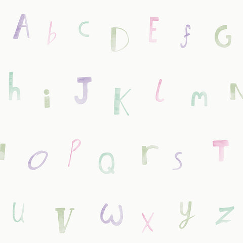 Alphabet Cream/Heather