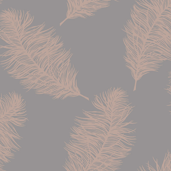 Fawning Feather Grey / Rose Gold