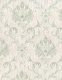 20707 Emily is a beautiful Green Damask Wallpaper from Holden Decor