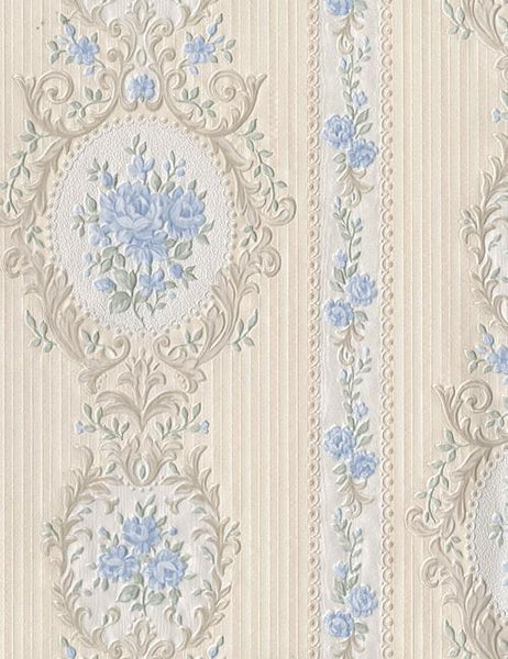 20719 Beatrice is a beautiful Blue Floral Wallpaper from Holden Decor