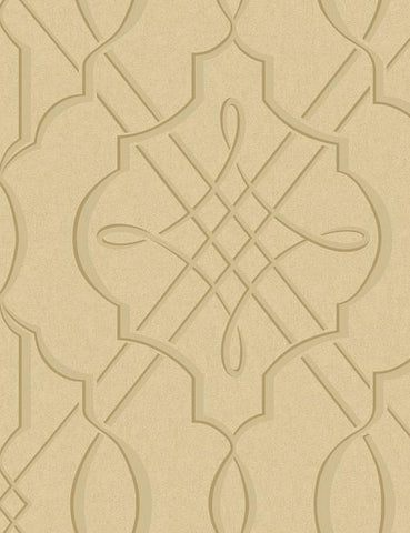 33942 Concetta is a beautiful Gold Feature Vinyl Wallpaper from Holden Decor