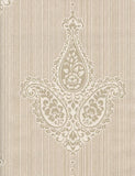 35061 Sabrina is a beautiful Neutral Motif Vinyl Wallpaper from Holden Decor