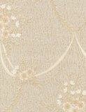 35132 Ginevra is a beautiful Beige / Gold Floral Vinyl Wallpaper from Holden Decor