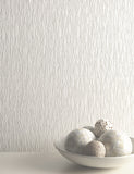 35184 Siene Texture is a beautiful White Textured Vinyl Wallpaper from Holden Decor