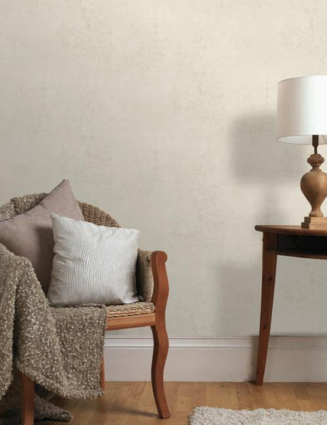 35210 Rosalea Texture is a beautiful Cream Textured Vinyl Wallpaper from Holden Decor