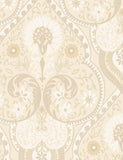 65031 Portobello is a beautiful Neutral Damask Wallpaper from Holden Decor