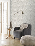 65032 Portobello is a beautiful Grey Damask Wallpaper from Holden Decor