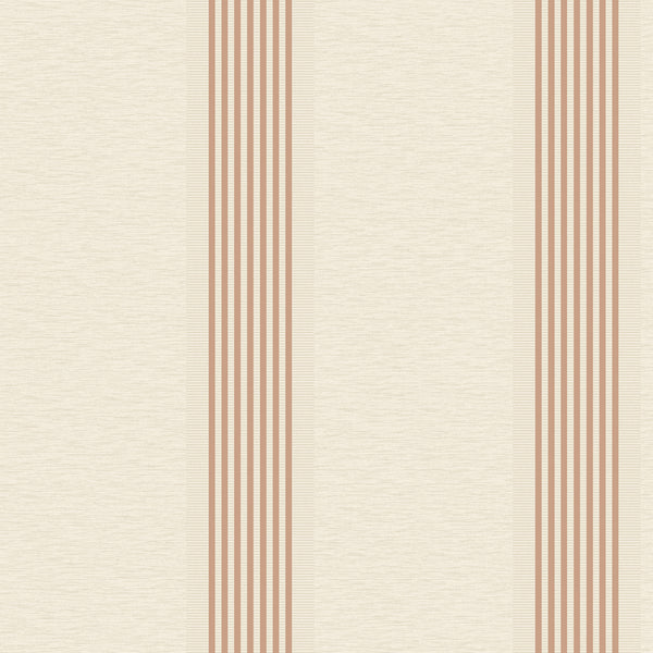Ambleside Stripe Rose Gold/Cream