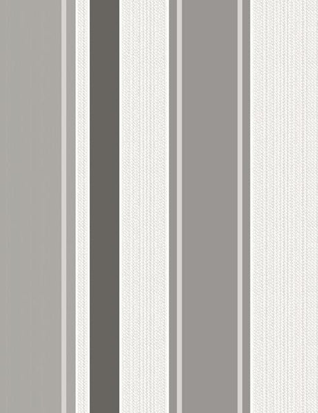 75620 Rico Stripe is a beautiful Black / White Stripe Blown Wallpaper from Holden Decor